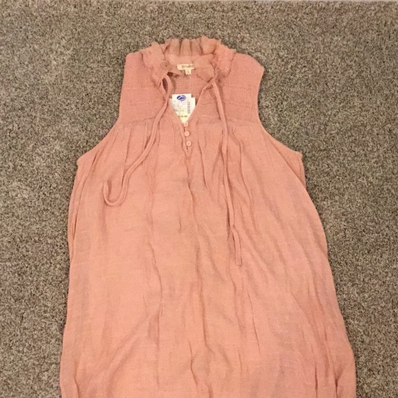 Rebellion Dresses & Skirts - New With Tags Pink Linen dress